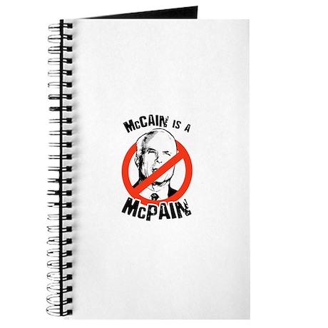 McCain is a McPain Journal