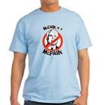 McCain is a McPain Light T-Shirt