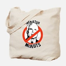 Anti-McCain: Senator McNuts Tote Bag