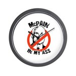 McPain in my ass Wall Clock