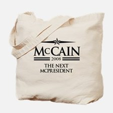 McCain 2008: The next McPresident Tote Bag