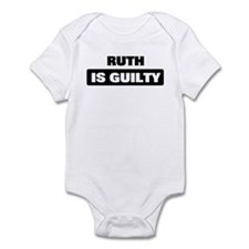 RUTH is guilty Onesie