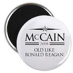 McCain 2008: Old like Ronald Reagan Magnet