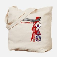 VF-11 Red Rippers Tote Bag