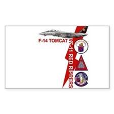 VF-11 Red Rippers Rectangle Decal