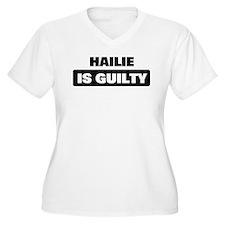 HAILIE is guilty T-Shirt