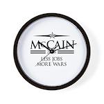 McCain 2008: Less jobs, more wars Wall Clock