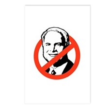 ANTI-MCCAIN Postcards (Package of 8)