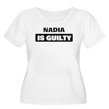 NADIA is guilty T-Shirt