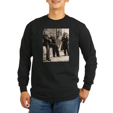 Dandy Lions Long Sleeve Dark T-Shirt