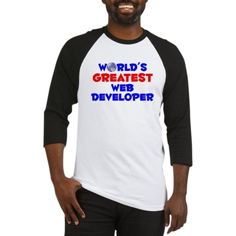 World's Greatest Web d.. (A) Baseball Jersey