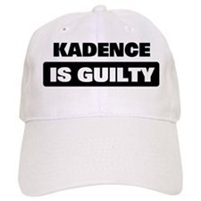 KADENCE is guilty Baseball Cap
