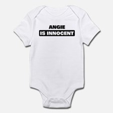 ANGIE is innocent Infant Bodysuit