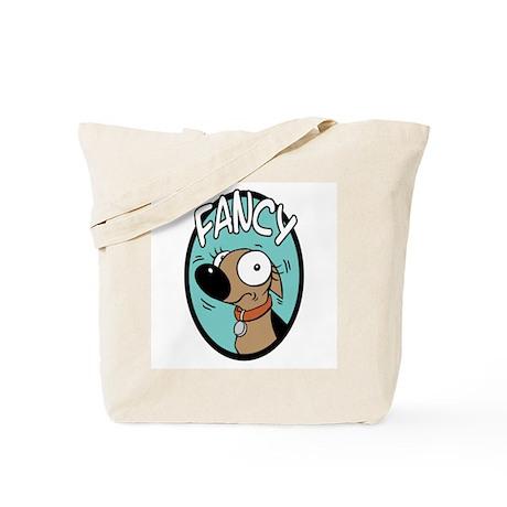 Fancy Oval Portrait Tote Bag