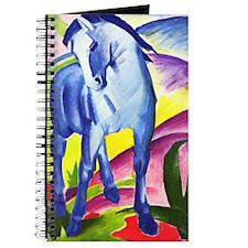 Blue Horse by Franz Marc Journal