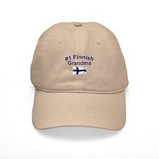 #1 Finnish Grandma Baseball Cap