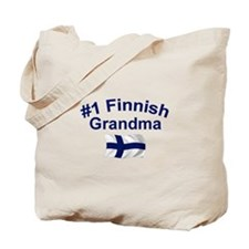 #1 Finnish Grandma Tote Bag