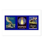Light Consumes Coal Postcards (Package of 8)