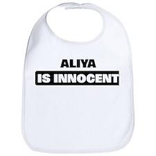 ALIYA is innocent Bib