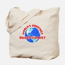 World's Greatest Recep.. (F) Tote Bag