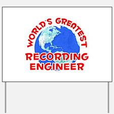 World's Greatest Recor.. (F) Yard Sign