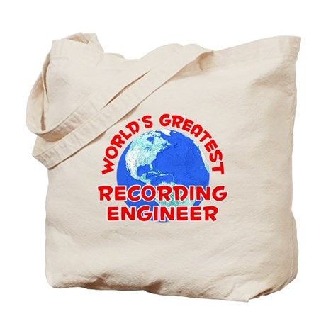 World's Greatest Recor.. (F) Tote Bag