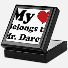 Mr. Darcy Lover Keepsake Box