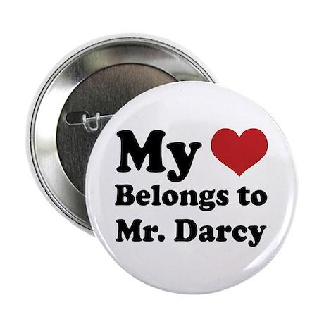"Mr. Darcy Lover 2.25"" Button"