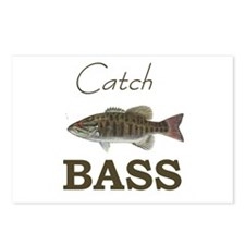 Catch Bass Postcards (Package of 8)