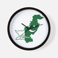 Cool Pakistan Wall Clock