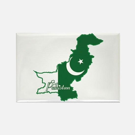 Cool Pakistan Rectangle Magnet