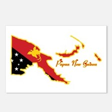 Cool Papua New Guinea Postcards (Package of 8)