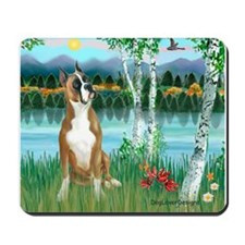 Birches / Boxer Mousepad