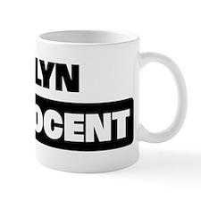 EVELYN is innocent Mug