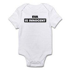 EVA is innocent Infant Bodysuit