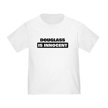 DOUGLASS is innocent Toddler T-Shirt