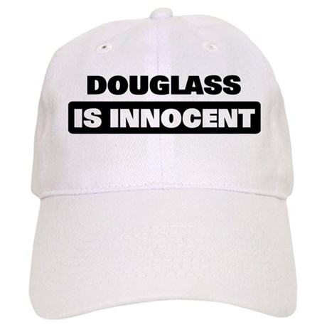DOUGLASS is innocent Cap