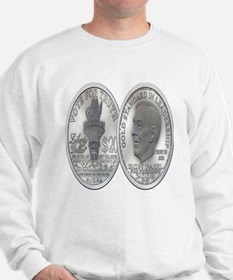Ron Paul Silver Dollar Sweatshirt