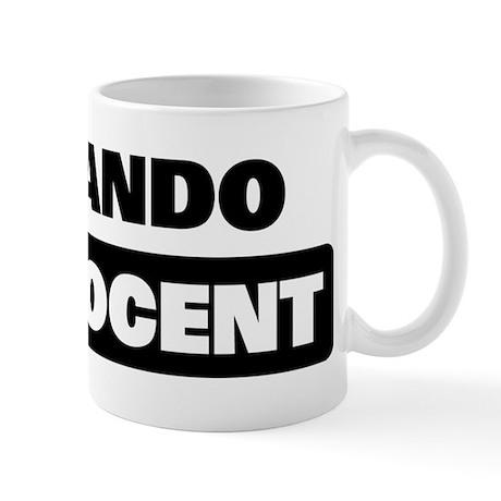 FERNANDO is innocent Mug