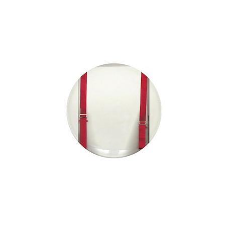 Red Braces Mini Badge/Button/Pin