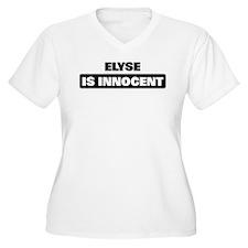 ELYSE is innocent T-Shirt