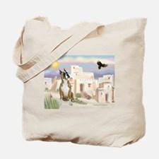 Adobe Village/Boxer Tote Bag