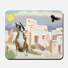 Adobe Village/Boxer Mousepad
