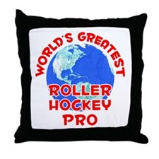 World's Greatest Rolle.. (F) Throw Pillow