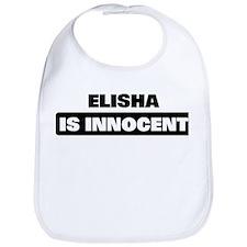 ELISHA is innocent Bib