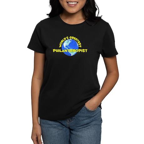 World's Greatest Phila.. (D) Women's Dark T-Shirt
