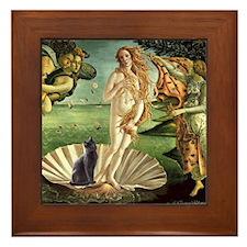 Venus /Russian Blue Framed Tile