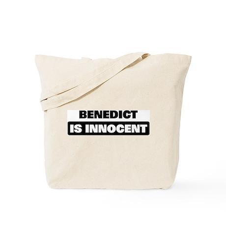 BENEDICT is innocent Tote Bag