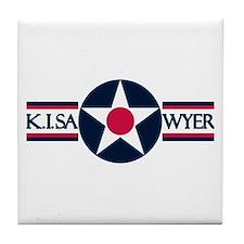 K. I. Sawyer Air Force Base Tile Coaster