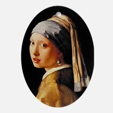 Vermeer Oval Ornament
